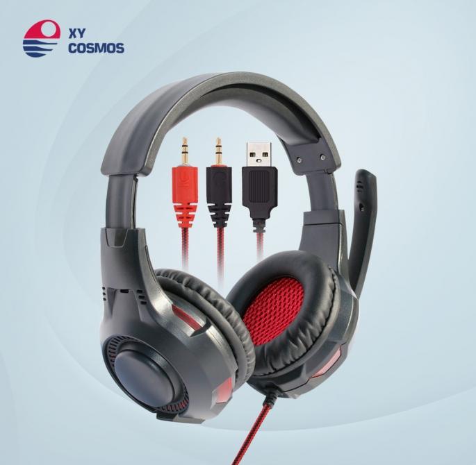 头戴式游戏耳机